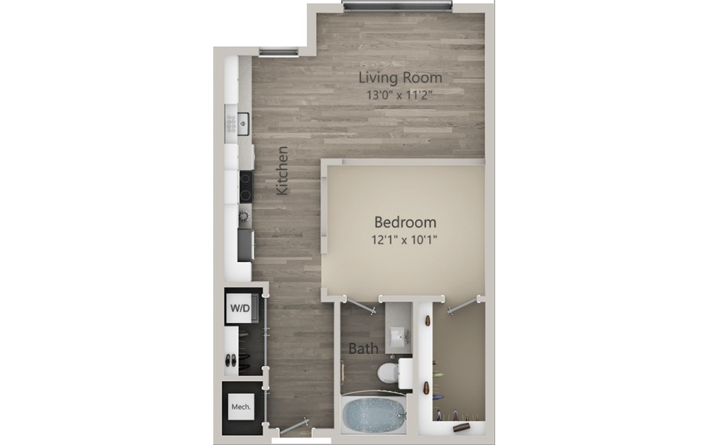 Stafford 2D Floorplan