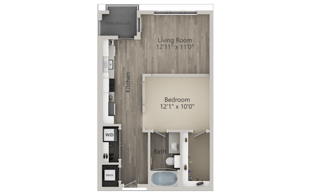 Susex 2D Floorplan