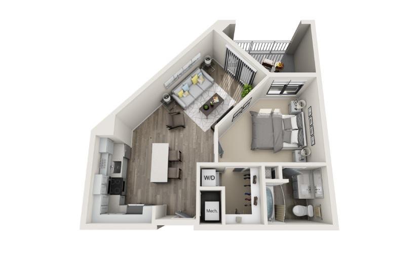 Mayfaire Flats_Abbey Floorplan