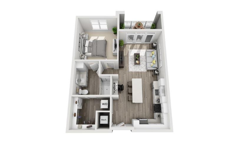 Mayfaire Flats_Alexandra Floorplan