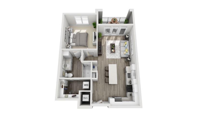 Mayfaire Flats_Atwood Floorplan