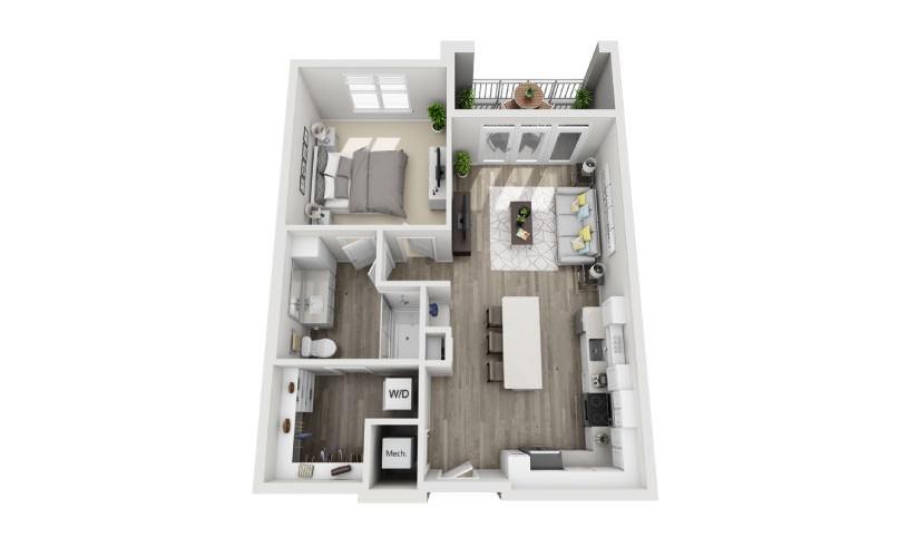 Mayfaire Flates_Archer Floorplan