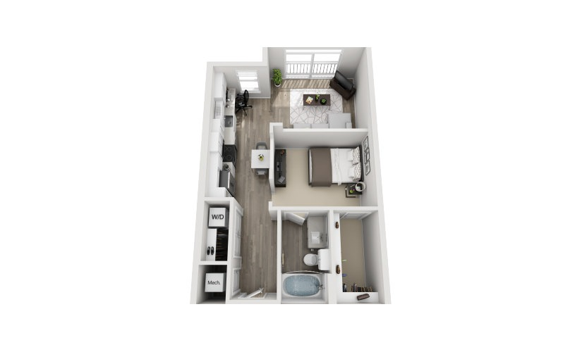 Mayfaire Flats_Stafford Floorplan