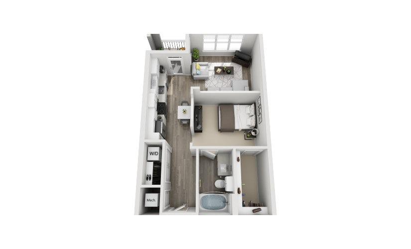 Mayfaire Flats_Susex Floorplan